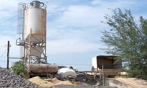 concrete admixture plant